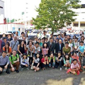 Equipe PSCORE pendant un des événements culturels organisé par l'organisation.